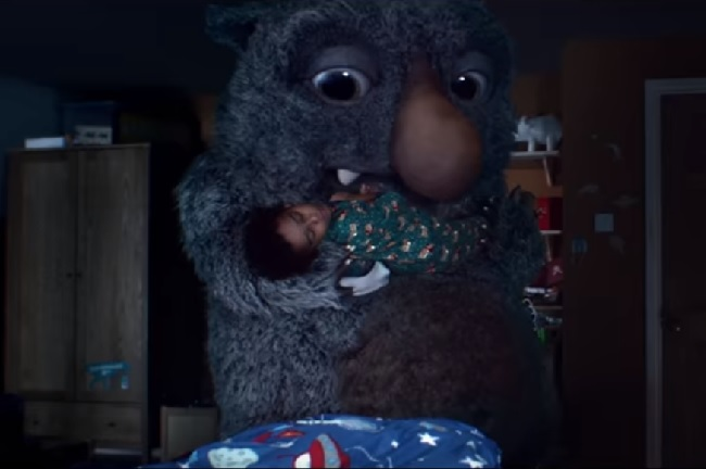 'Moz the Monster': the 2017 Christmas ad