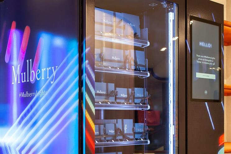 Mulberry: smart vending machine