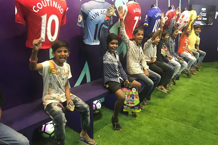 Mumbai: the Premier League's first India fan park