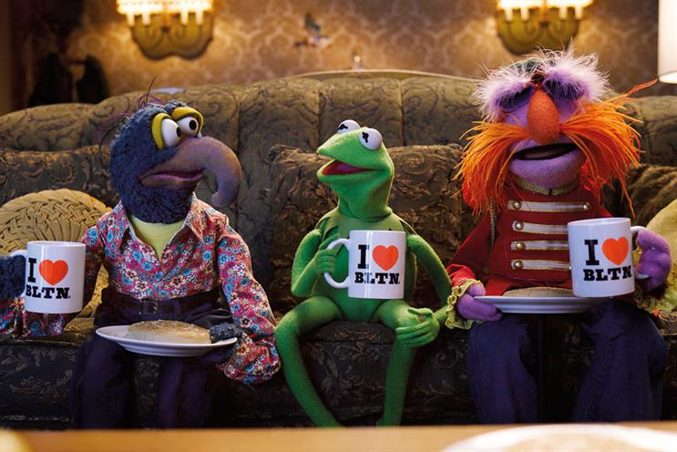 The Muppets star in a new Warburtons ad promoting Giant Crumpets