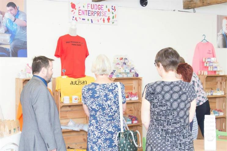 The first pop-up will open within Café Autisan in Lancashire (facebook.com/NationalAutisticSociety)