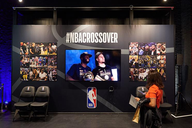 NBA: offering fans chance to win prizes