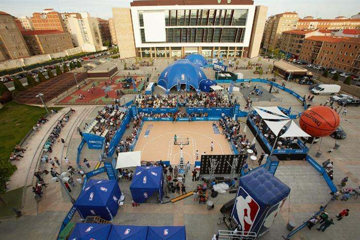 NBA debuts new experience in Spain
