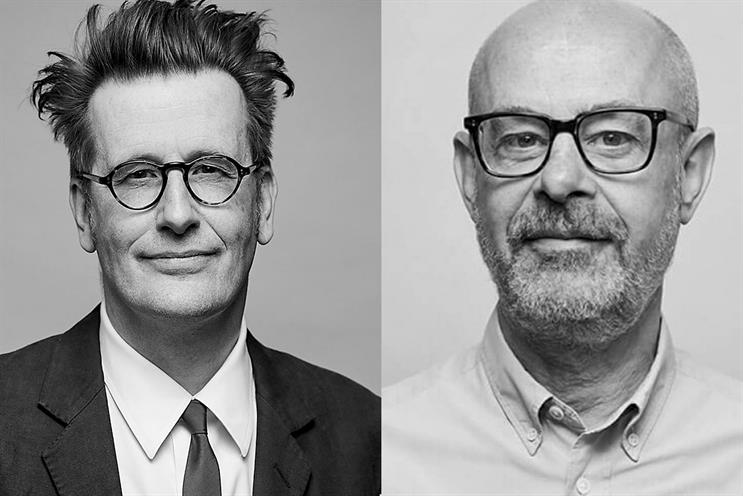 Krow: Malcolm White (left) and Nick Hastings co-founded the agency in 2005