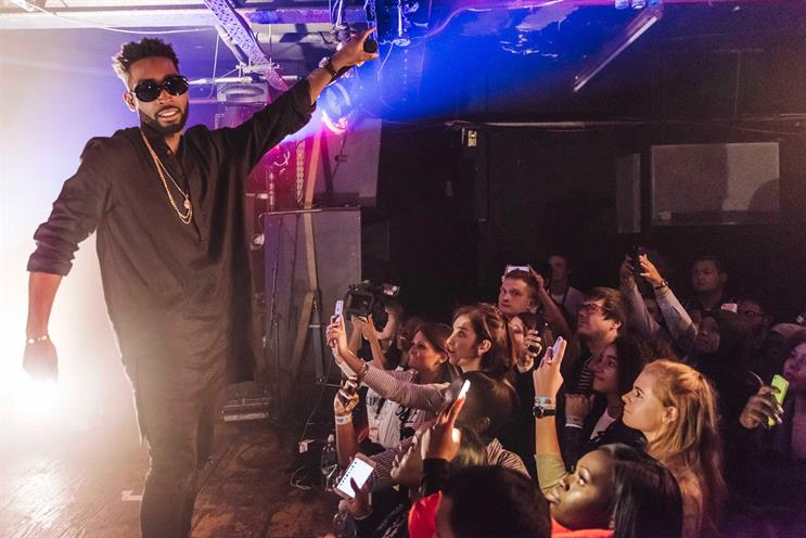 Tinie Tempah: last year's event ended with an intimate gig
