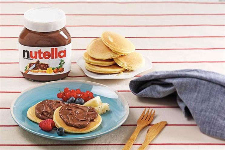 Nutella: shop aims to inspire different breakfast habits