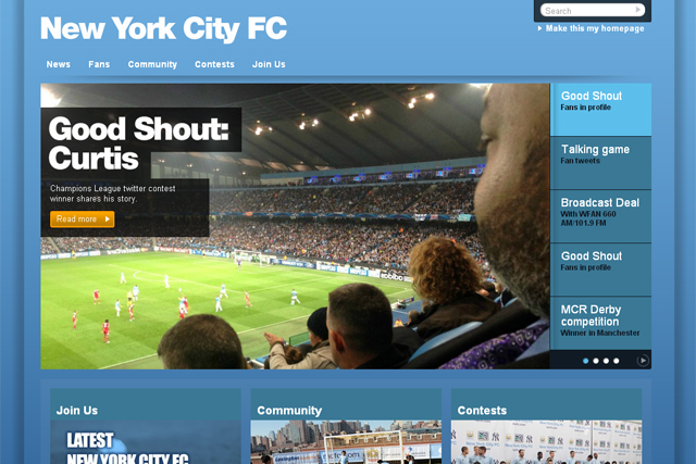 New York City Football Club: appoints Droga5