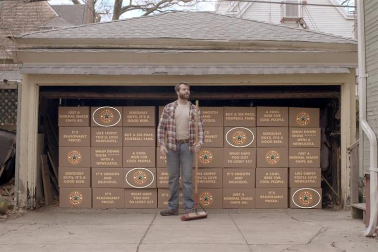 Newcastle Brown Ale 'Chores' by Droga5 NY