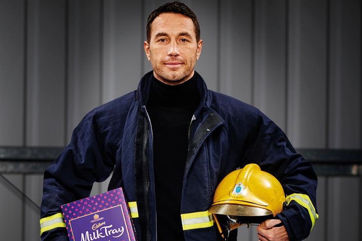 Cadbury's new Milk Tray Man on taking the 'iconic role'