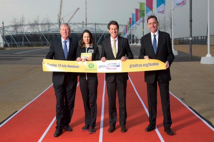 Launch of Morrisons Great Newham London run
