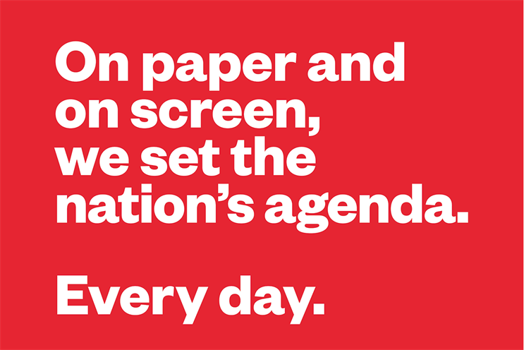 Newsworks launches new campaign for 'agenda-setting' newspapers