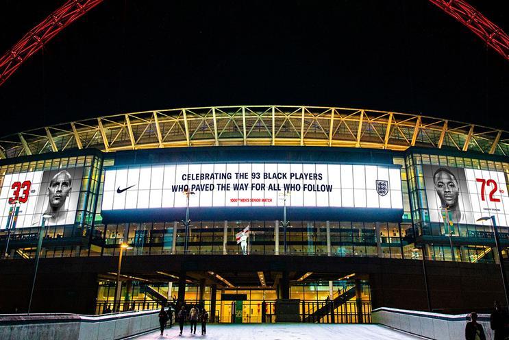 Nike: activity at Wembley Stadium on matchday