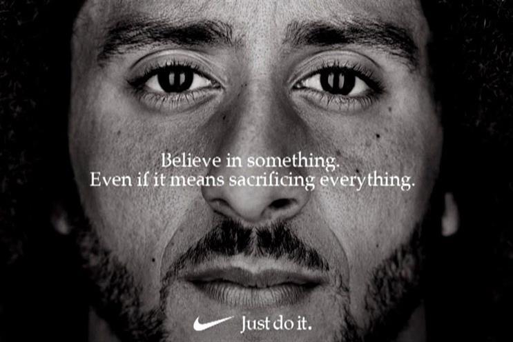 Nike's campaign starring Kaepernick