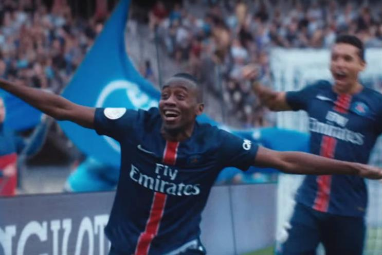 Blaise Matuidi: the star of Nike's 90-second epic video
