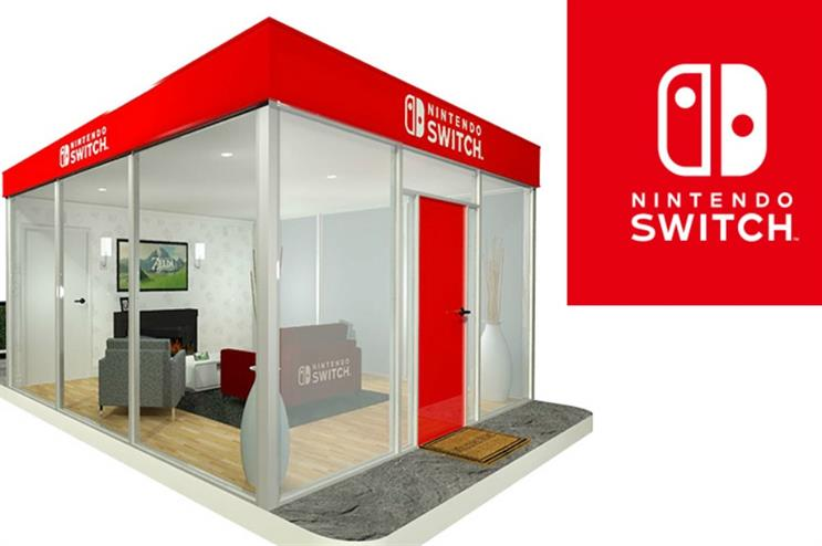 Nintendo: pop-ups in unexpected places