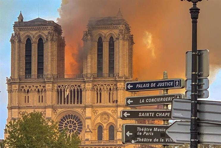 efc8ebe232d6 Notre Dame  cathedral was reported to be 30 minutes away from complete  destruction