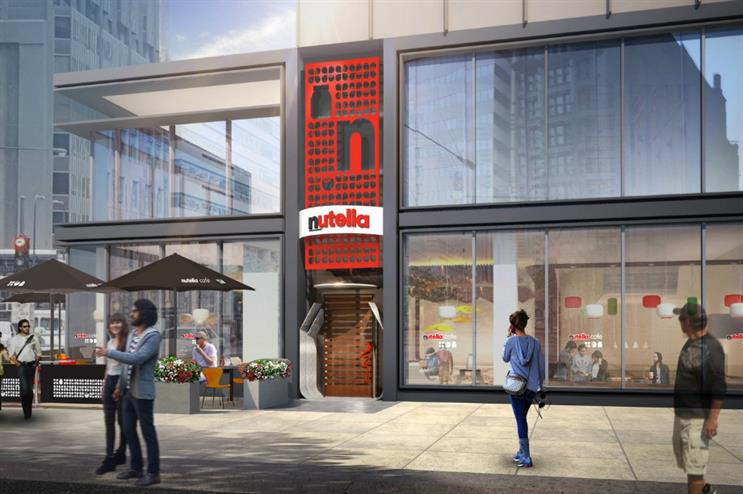 Nutella to open café in Chicago
