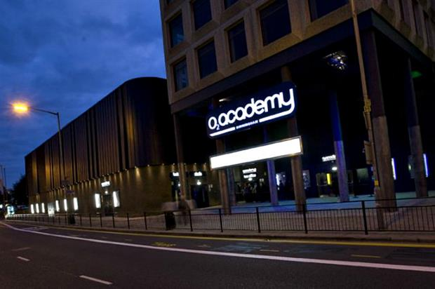 O2 announces 10 year renewal of O2 Academy Deal
