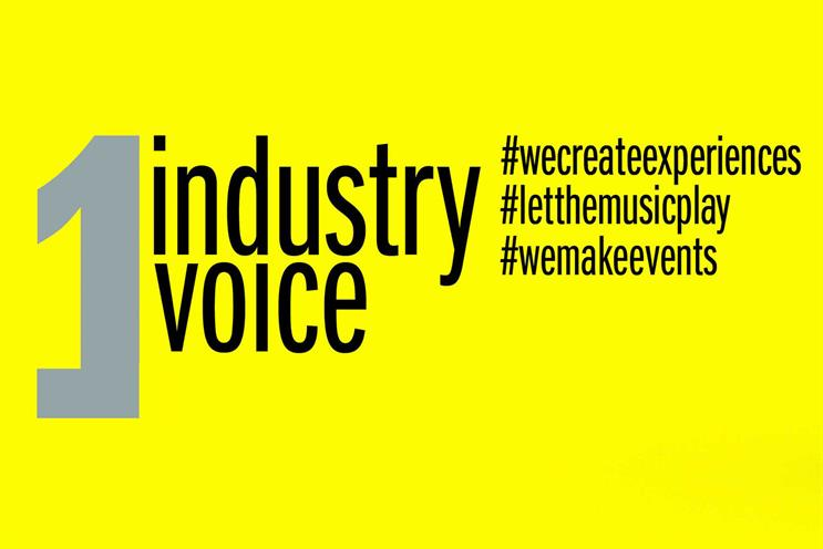 UK events industry: combined campaign will use tagline 'One industry one voice'