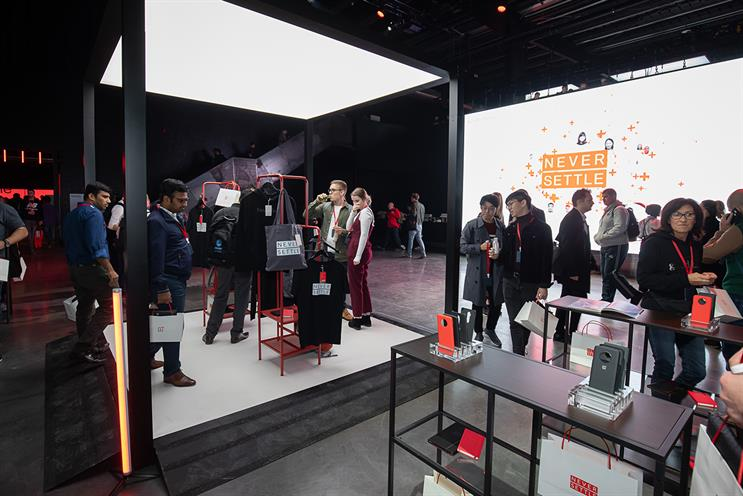 OnePlus: event in Greenwich, London