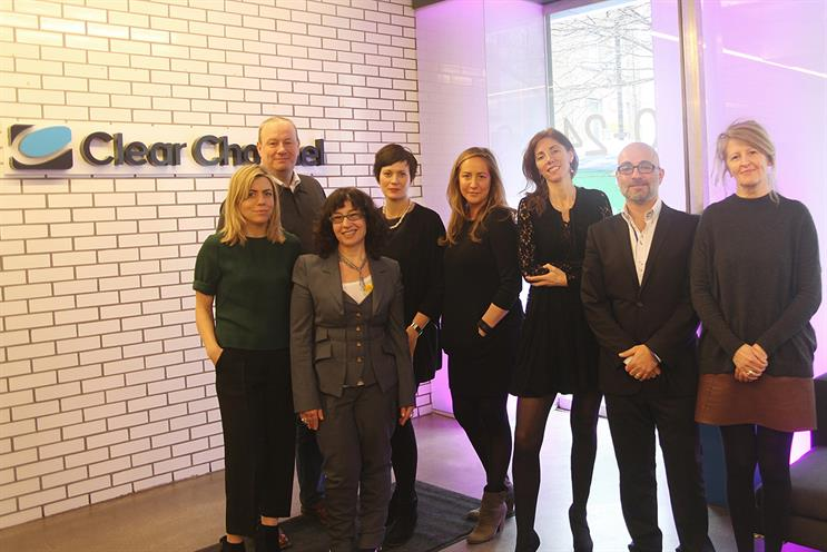 Judges (l-r): Camilla Harrison, Anomaly; Peter Taylor, Sony Pictures; Sue Unerman, MediaCom; Verica Djurdjevic, PHD; Natasha Murray, Havas Media; Claire Beale, Campaign; Chris Pelekanou, Clear Channel; Pat Doherty, Creative Counsel
