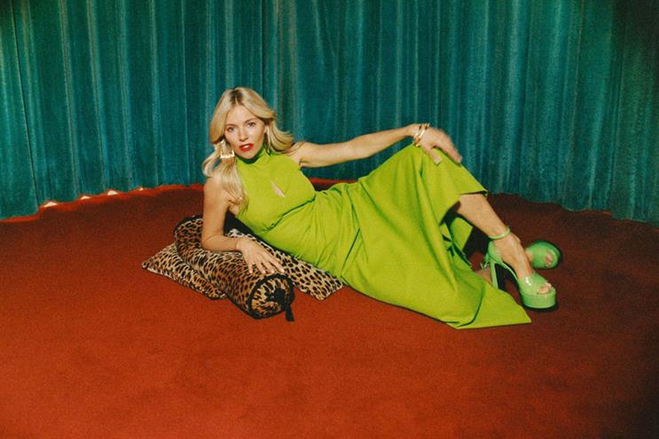 Oxfam: Selfridges based pop-up will feature items worn by Sienna Miller