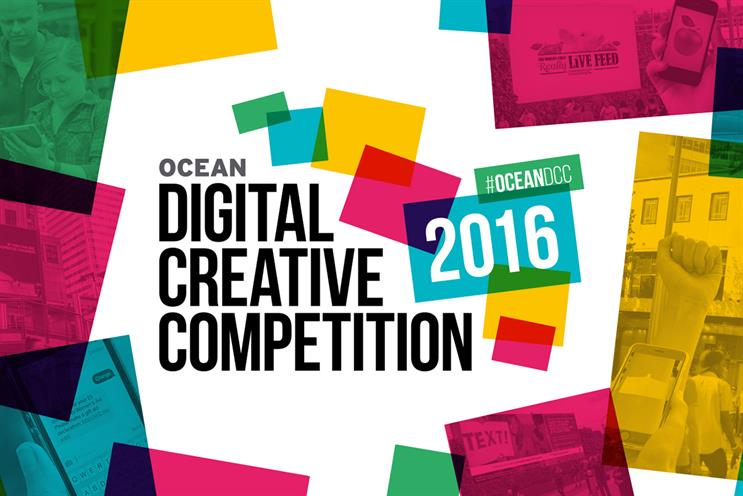Tollett and Ryan to judge in international roll-out of Ocean's digital creative contest