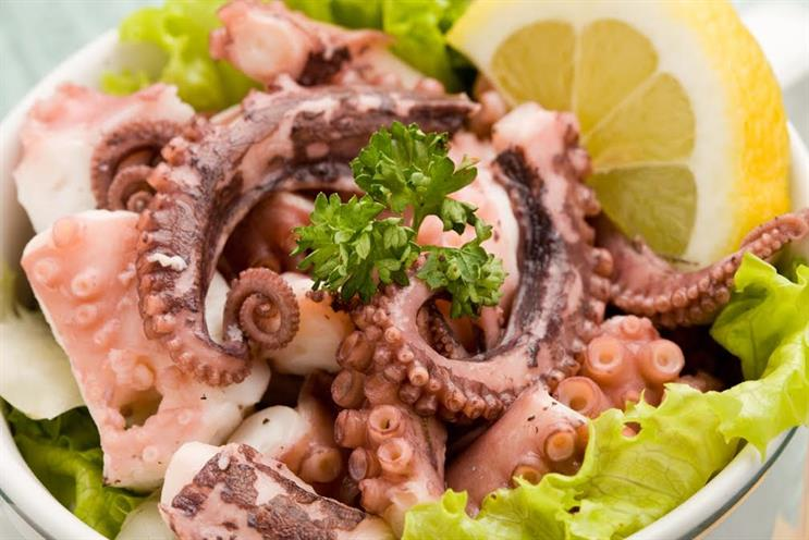 My New Year's resolution: Eat octopus for breakfast