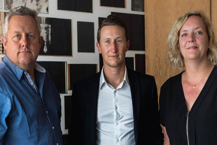 New Oliver hires (l-r): James Sanderson, Ed Howarth and Claire Aldous
