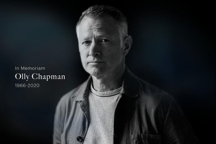 Chapman: worked at agencies including BBH and AMV