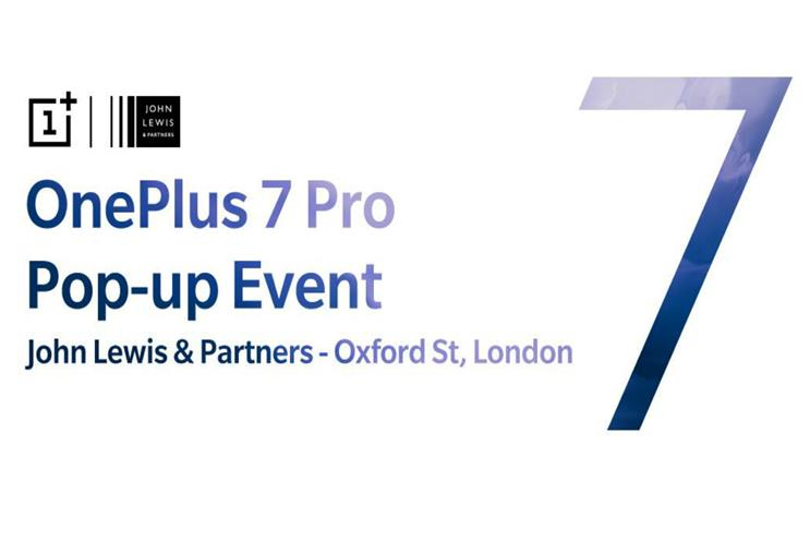 OnePlus: London event takes place at John Lewis store