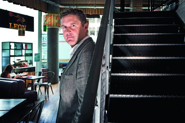 John Vincent, co-founder, Leon Restaurants