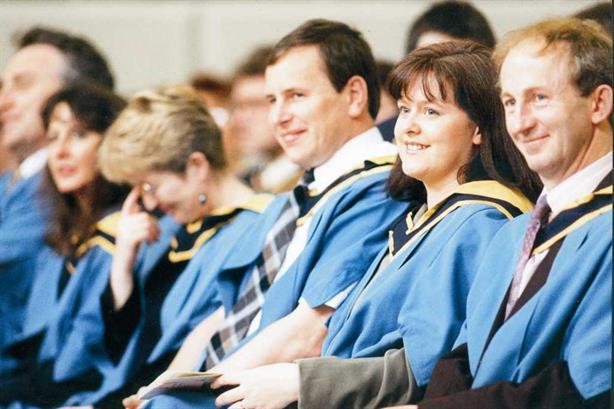 MBA graduates of the OU (©The Open University)
