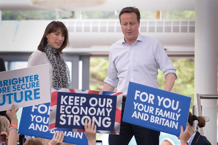 Conservative Party: its voters are believed to be systematically underrepresented in polls. Credit: PA Photos