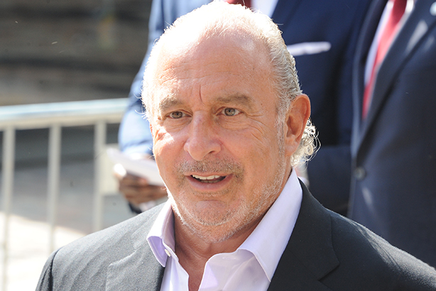 Sir Philip Green: chairman of Arcadia Group