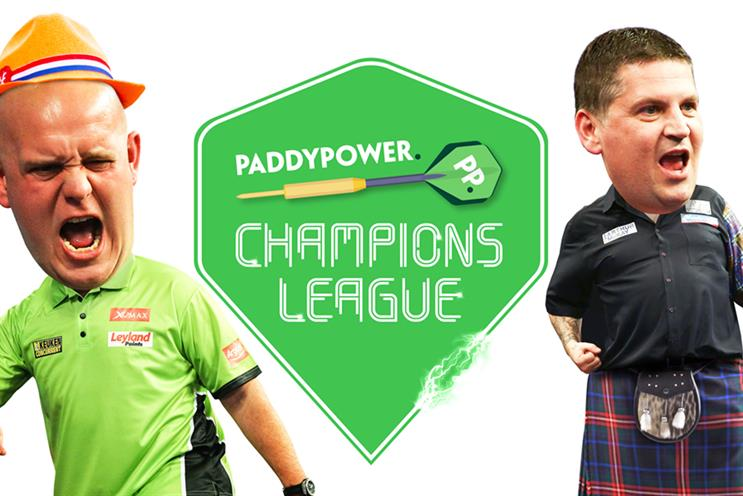Paddy Power: darts experience for fans