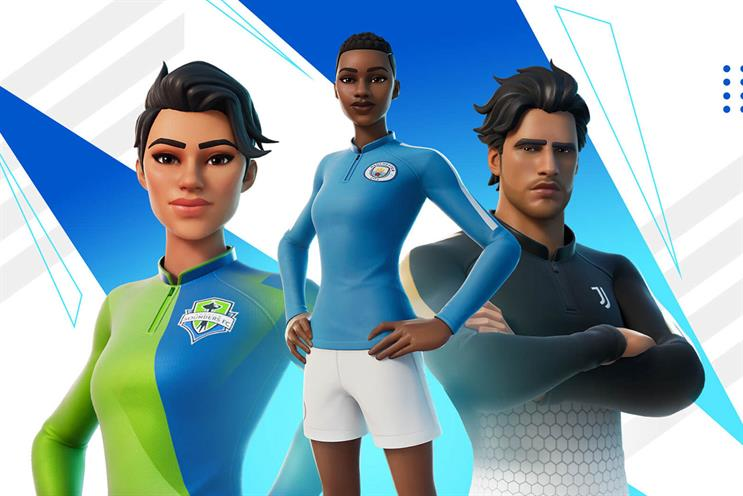 Fortnite: Manchester City is among the global partners