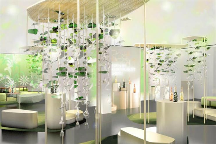 Perrier-Jouët : immersive experience at London Design Festival