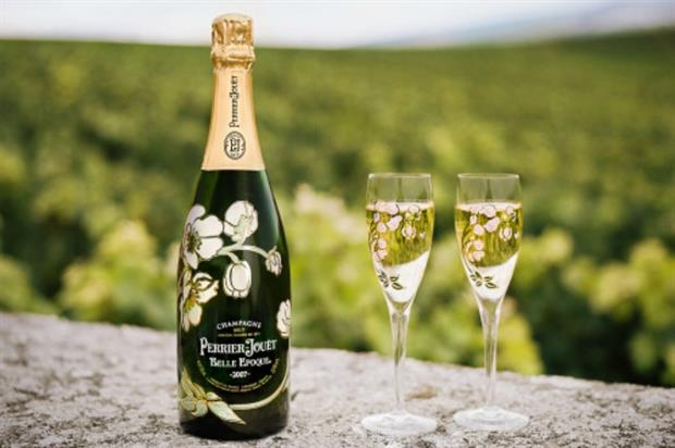 Perrier-Jouët is hosting a pop-up for the Chelsea Flower Show