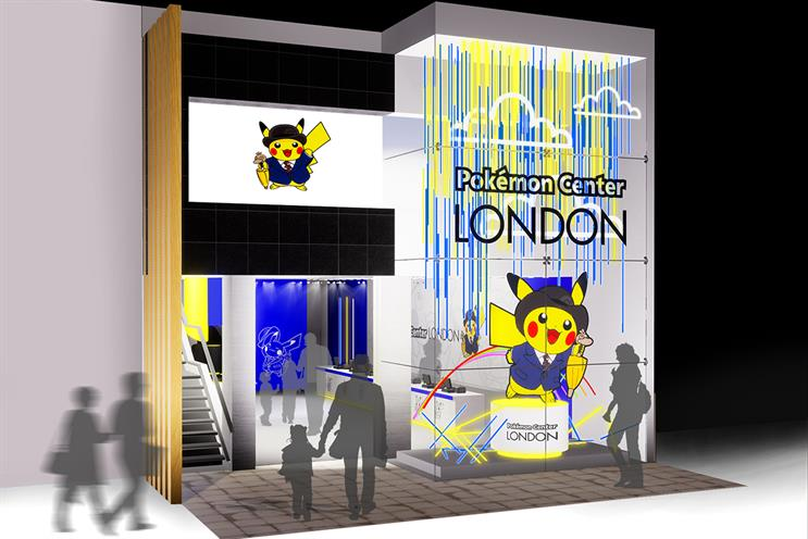 Pokémon: pop-up to launch new games
