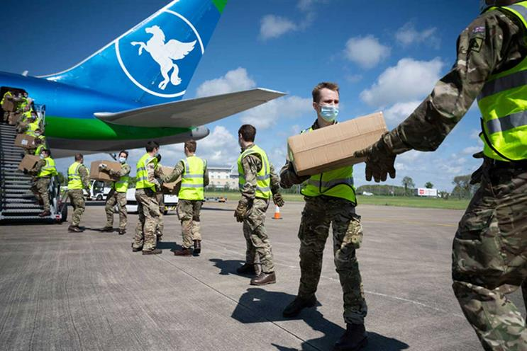 Govt: distribution of medical supplies 'fallen short', respondents say (Getty Images)