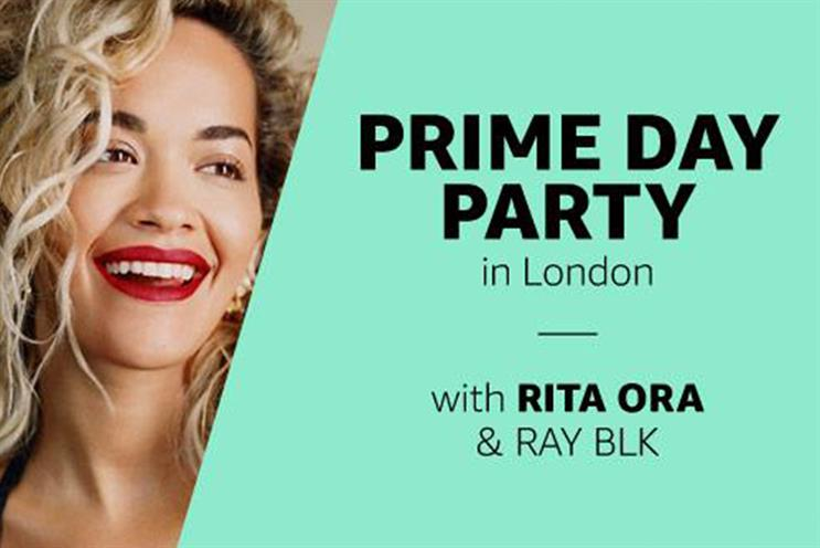 Amazon: Ora is performing at London event