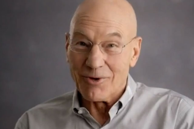 Sir Patrick Stewart: actor stars in Twitter's Cannes Lions seminar on live stroytelling