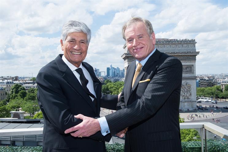 Public Omnicom: Muarice Lévy and John Wren seal mega-merger