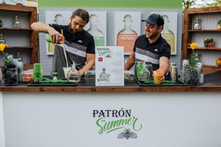 Patrón: summer cocktail experience