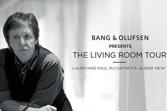 Bang & Olufsen: recruits Sir Paul McCartney