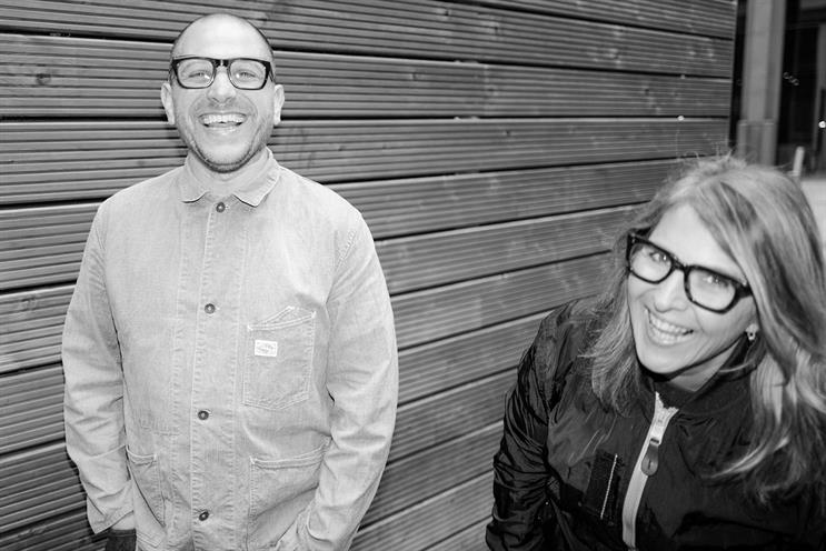 Cohen [left] worked at A&E/DDB with Lloyd, while Higgs was at Grey London
