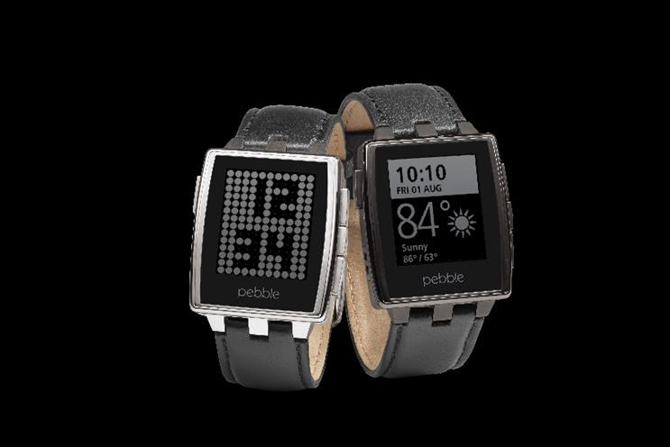 Pebble Watch is one of the leading wearable brands