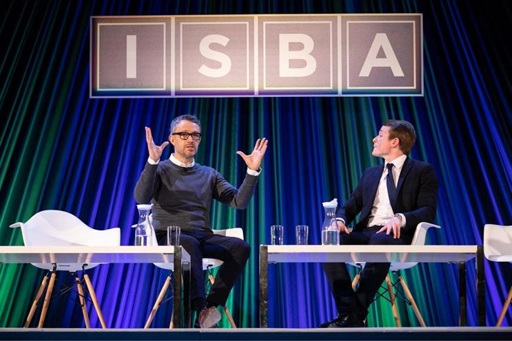 ISBA conference: David Pemsel and Joe Mayes