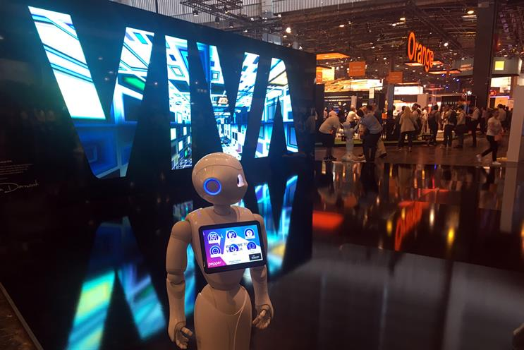AI dominates first day of Viva Technology Paris 2017